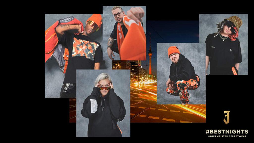 """Jägermeister přináší pod názvem """"Best Nights"""" svou první streetwear kolekci"""